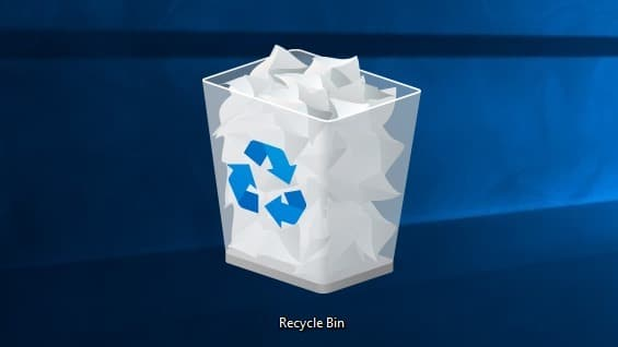 Recycle Bin hide or remove from desktop