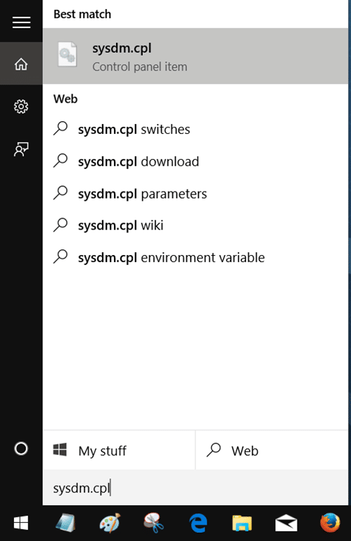 how to change the name of laptop windows 10