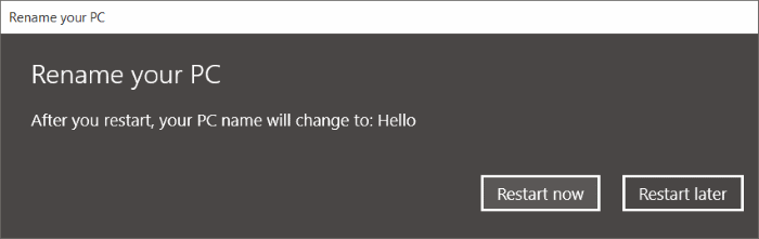 Change Computer Name in Windows 10 pic12