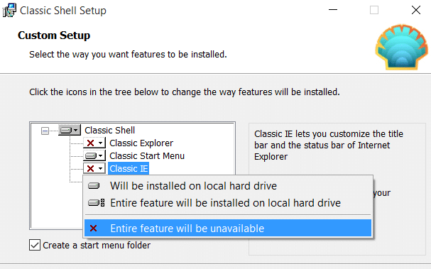 Change The Start button in Windows 10 pic2