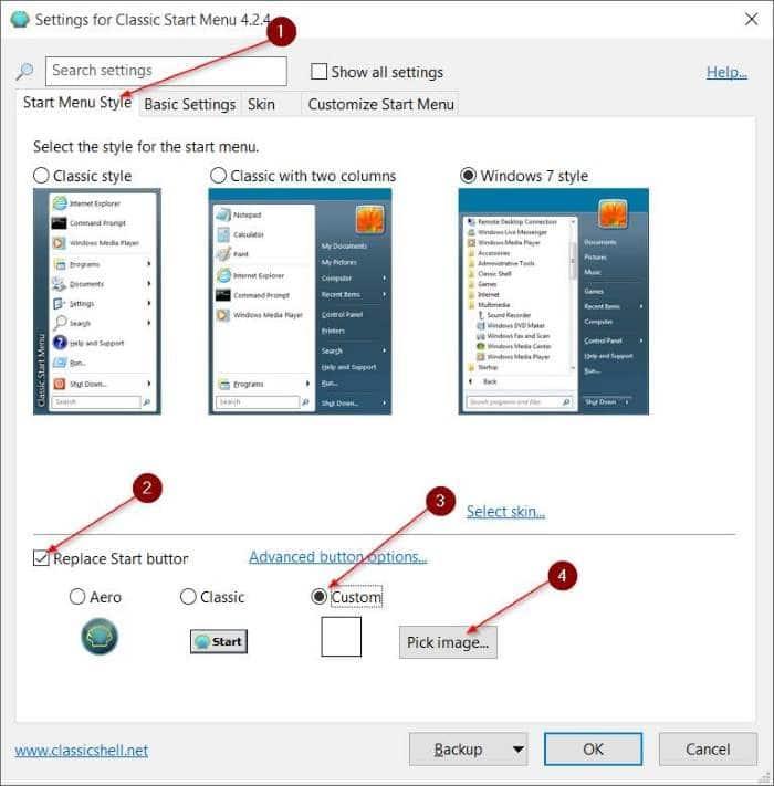 Hướng Dẫn Cách Thay Đổi Nút Start Trên Windows 10 - AN PHÁT