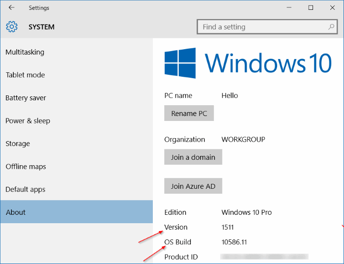 update is the first major update to Microsoft Check Your Windows 10 Build Number