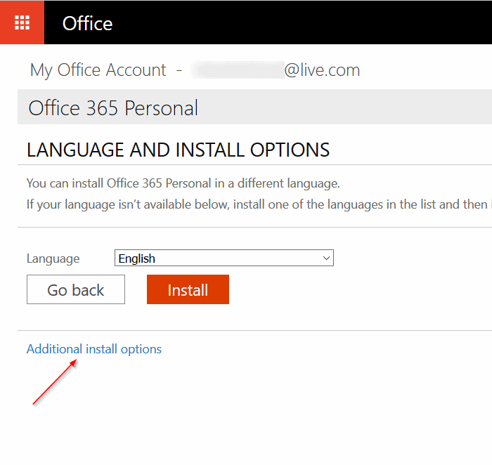 Downgrade Microsoft Office 2016 to 2013 step3