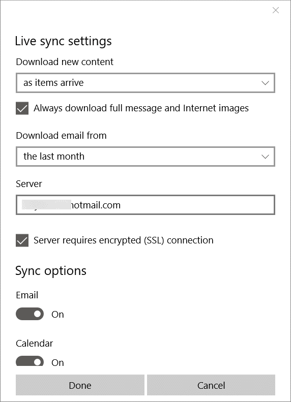 Fix Mail App Sync Issues in Windows 10 pic4.1