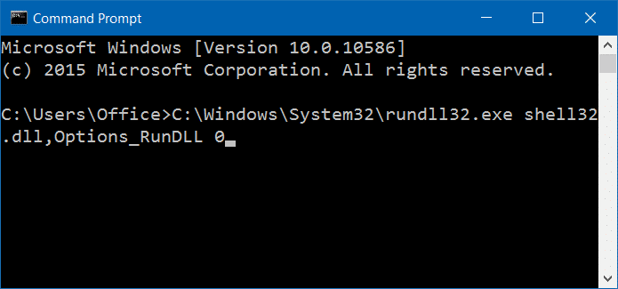 Open Folder Options in Windows 10 pic8
