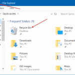 How To Pin Recycle Bin To Quick Access & Quick Access Toolbar In Windows 10