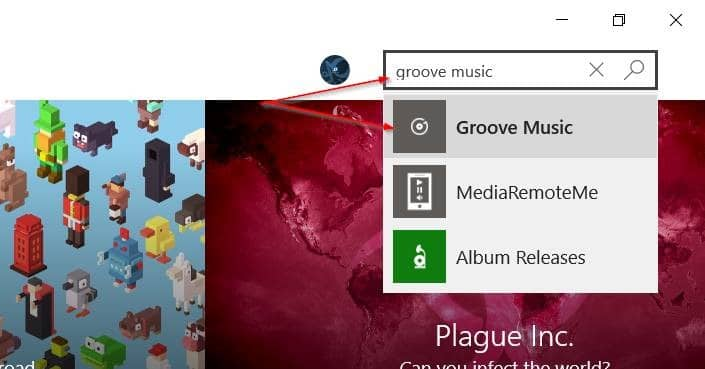 Reinstall Groove Music in Windows 10 pic6
