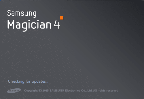 Samsung magician with full support for windows 10