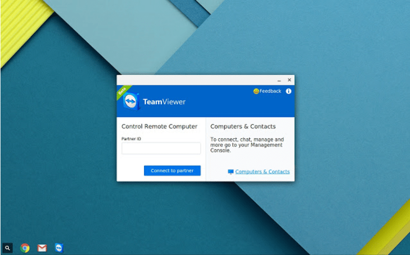 Download TeamViewer For Chrome OS/Chromebook