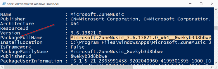 Uninstall Groove Music from Windows 10 pic4