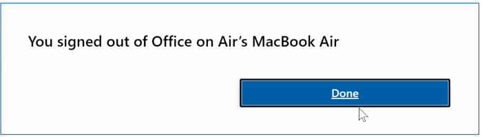 deactivate Office 365 pic4