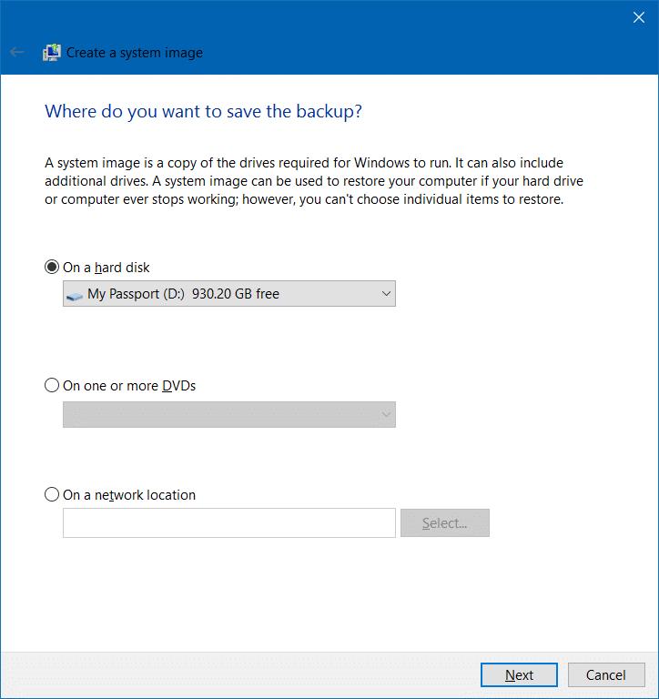 System Backup Windows 10 - Bing images