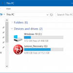 How To Hide The Recovery Partition In Windows 10/8.1/7