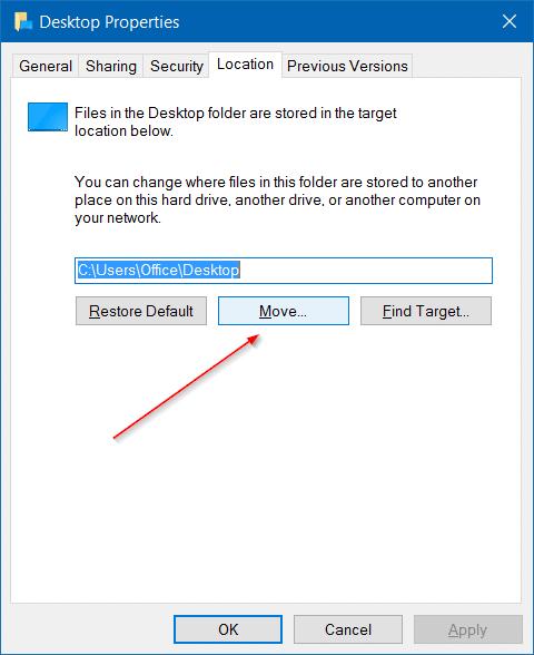 Move users folder in windows 10