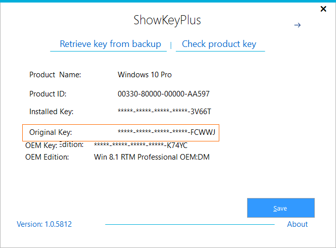 Recover Product Key from Windows.old folder pic7