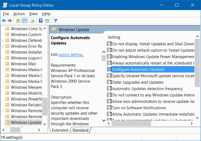 Some settings are managed by your organization in Windows 10 step1