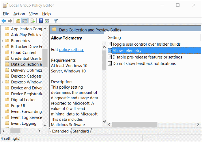 Some settings are managed by your organization in Windows 10 step3