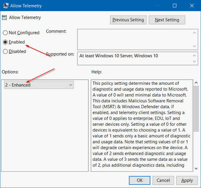 Some settings are managed by your organization in Windows 10 step4
