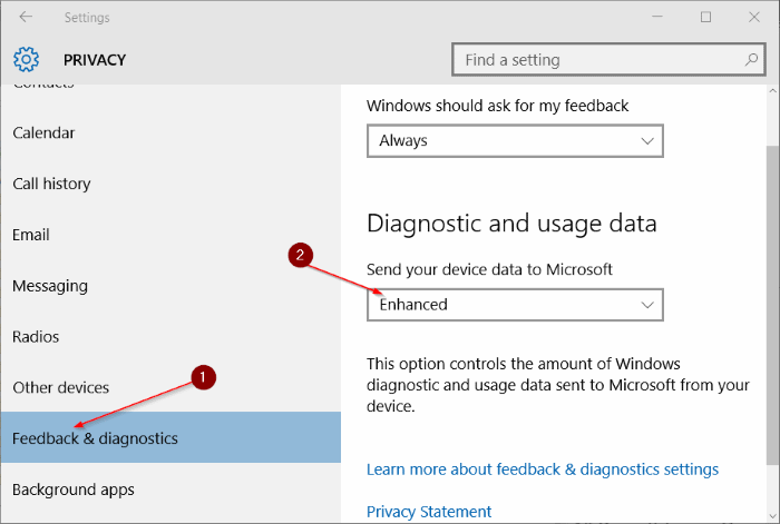 Some settings are managed by your organization in Windows 10 step5