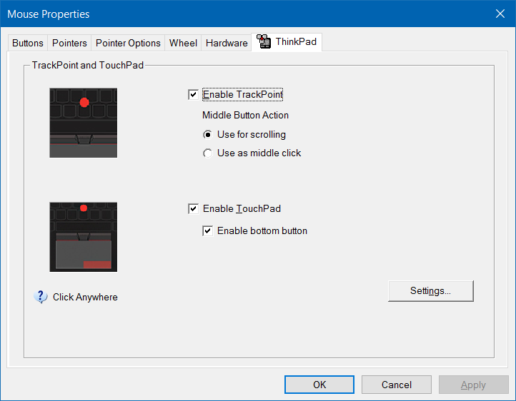 Turn on or off touchpad gestures in Windows 10 pic6.1