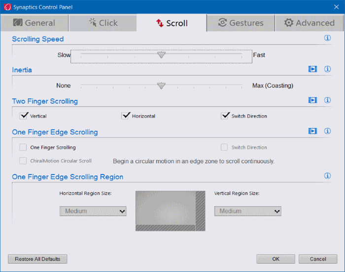 Turn on or off touchpad gestures in Windows 10 pic9