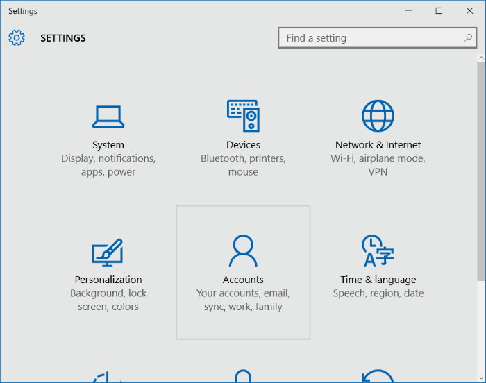 Use PIN to sign into Windows 10 (2)