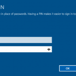 How To Use A PIN To Sign In To Windows 10