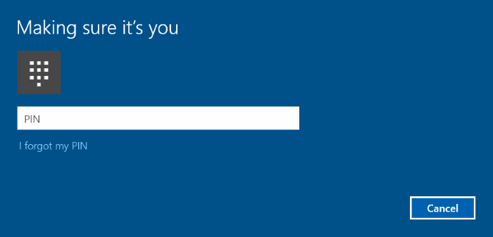 Use fingerprint to sign in to Windows 10 (7)