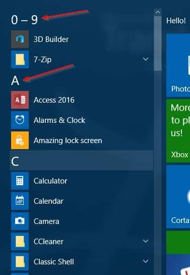 Windows 10 Start menu search tips (1)