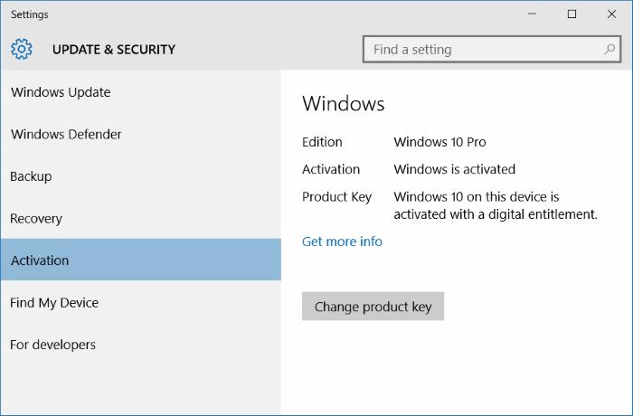deactivate windows 10 key