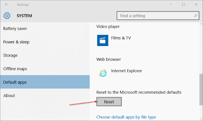 backup and restore file associations in Windows 10 step10