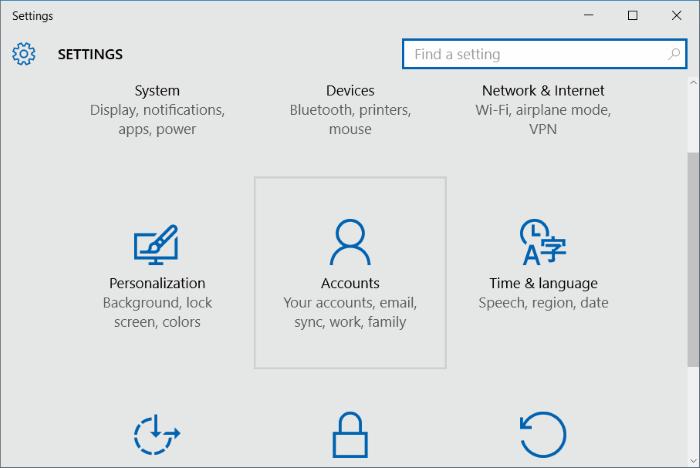 how to remove user login screen windows 10