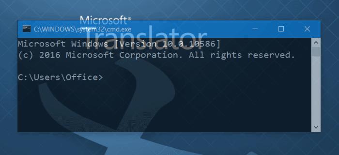 Make Command Prompt CMD Transparent in Windows 10