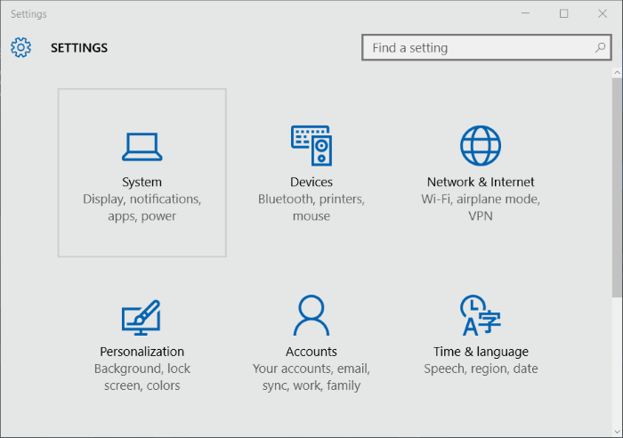 Move Store apps to another drive or SD card in Windows 10 step2