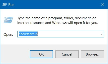 Remove programs from startup in Windows 10 step2