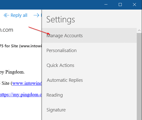 How To Sign Out Of Mail App In Windows 10