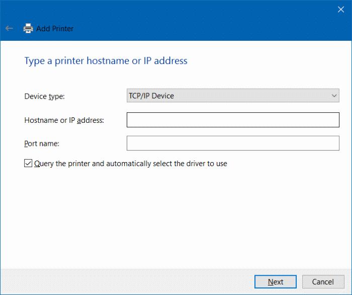 Cara share printer di windows 10