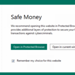 Enable Or Disable Kaspersky Safe Money In Windows 10/8/7