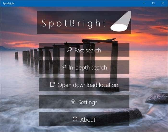 download windows 10 spotlight lock screen pictures step1