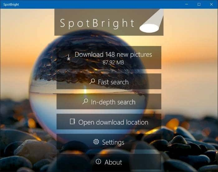 download windows 10 spotlight lock screen pictures step3