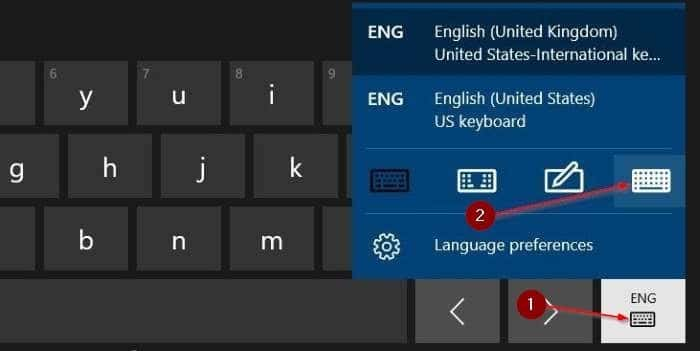 enable standard full keyboard layout in touch keyboard in Windows 10 pic6