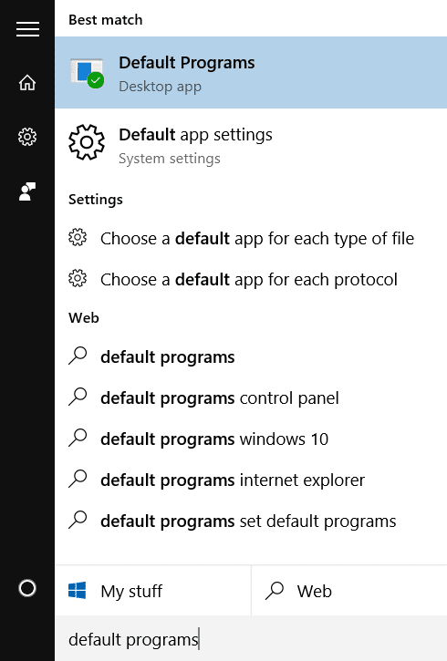 fix to Mount option missing from context menu in Windows 10 step1