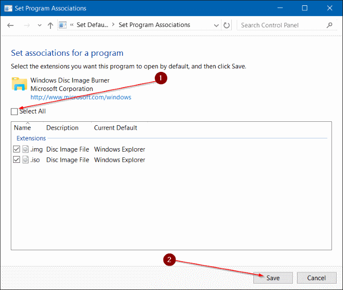 fix to Mount option missing from context menu in Windows 10 step4