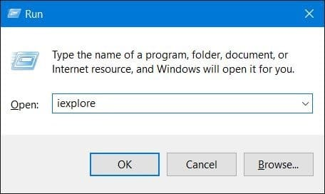 open internet explorer in windows 10 pic2