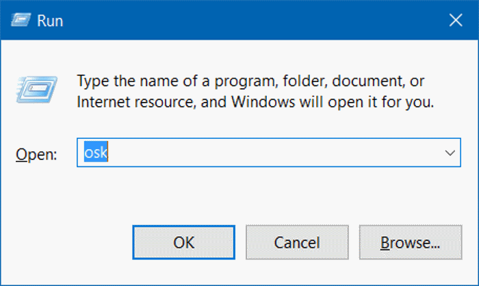 open on screen keyboard in Windows 10 pic2