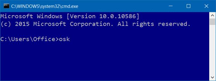 open on screen keyboard in Windows 10 pic3
