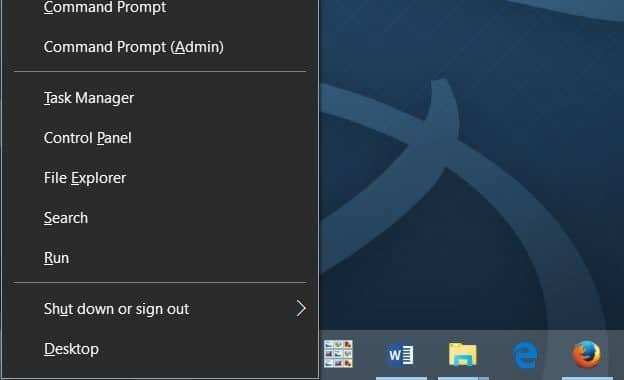 open task manager in Windows 10 pic2