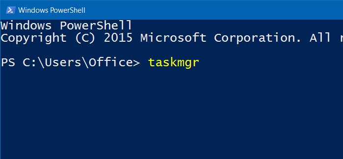 open task manager in Windows 10 pic8