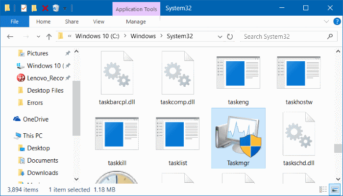 open task manager in Windows 10 pic9