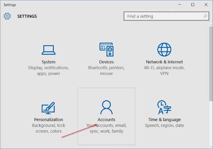 rename Microsoft or local account in Windows 10 step2.jpg